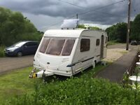 Sterling cuillin 2004 / 4berth /520 full awning many extras good condition for year towing wait