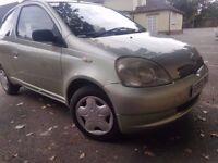 2002 TOYOTA YARIS 1.4 D4D..12 MONTHS MOT..FULL SERVICE HISTORY..CLEAN CAR