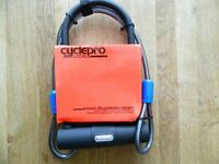 High Security Raleigh Cyclepro Protector 300 Combination Coil Cable