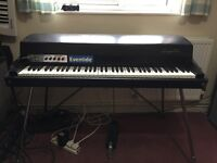 Fender Rhodes Stage 73 Piano with Vintage Vibe preamp great condition