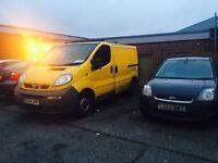 54 plate Vauxhall vivaro tax and mot