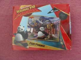 Kung Fu Panda 45 piece puzzle, complete in box £2