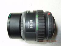 SLR camera lens. PENTAX-F ZOOM 28-80 1:3.5-4.5 MACRO