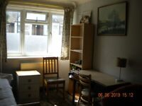 Lovely large room for single occupancy in peaceful non-smoking house for employed/f.t. student