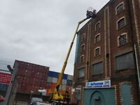 CHERRY PICKER HIRE GUTTER CLEAN ROOF REPAIRS PAINTING WORKS PRESSURE WASHING