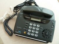 Combined Telephone/Fax/Answering Machine