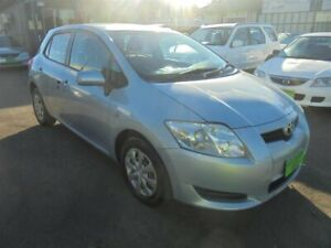 2007 Toyota Corolla ZRE152R Ascent Sky Blue 4 Speed Automatic Hatchback Punchbowl Canterbury Area Preview