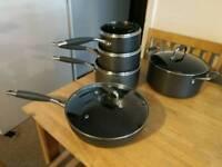 Non stick saucepans stockpot and wok Khun Rikon