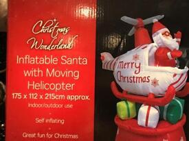 Christmas inflatable Santa