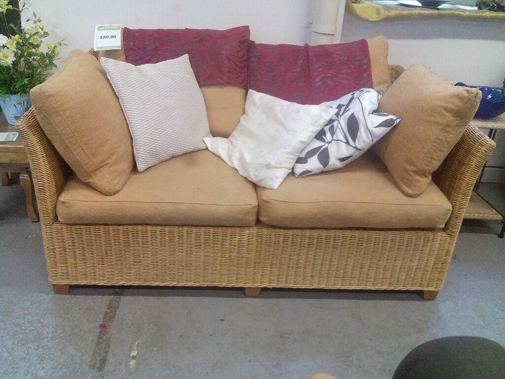 2 seat wicker sofa REF:GT406