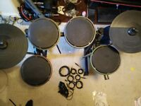 Ion drum rocker Xbox electronic drum kit / practice kit (faulty pedal)