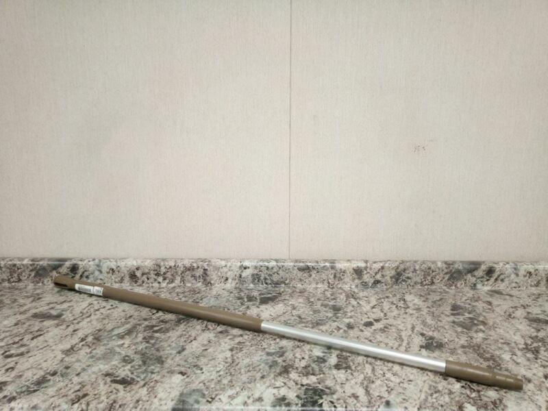 Vikan 293566 51 In L European Thread Aluminum/Polypropylene Brown Broom Handle
