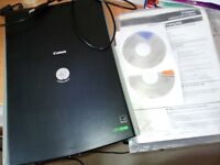 Canon Scanner, slimline, great condition, manual and CD included