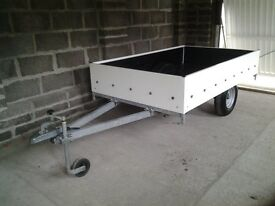 Trailer for sale 2m by 1.2m galvanised lights jockey wheel new spare