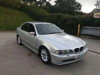 **BMW 530 D 3.0 DIESEL AUTOMATIC SILVER (2002 YEAR).**