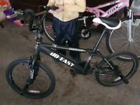 3 BMX bicycles for sale