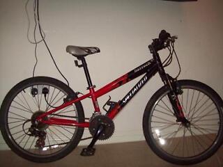 24''specailized hotrock boys mountain bike cheap