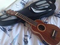 Freshman FU3S ukulele Yeovil + Taunton pickup