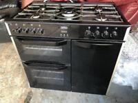 Fantastic black Belling gas cooker