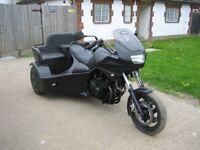 YAMAHA TRIKE MOTORCYCLE 900cc WITH REAR SEAT