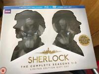 SHERLOCK Complete series 1-3 Limited Edition Gift Set