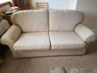 Immaculate comfy sofa bed.