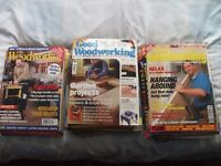 Sixty Woodworking Magazines