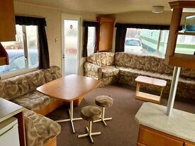 CHEAP STATIC CARAVAN FOR SALE 3 BEDROOM OCEAN EDGE 3 BEDROOM