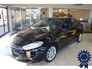 2014 Dodge Dart Limited, Leather Seats, Nav System, 39,240 KMs