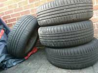 "Renault 16"" Alloys 205/55/16 Nice Tyres"