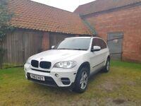 Bmw x5 3.0 30d SE X5DOOR in white auto a/c