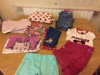 Girls mixed cloths bundle 2-4 years