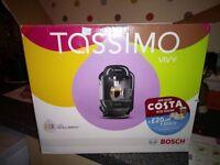 Bosch Tassimo Vivy Coffee Machine + extras