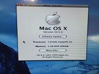 Apple Mac G5 Desktop with 2gb memory