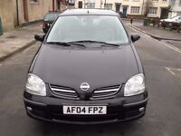 Nissan Almera tino 1.8 petrol , Automatic, low mileage, excellent condition,