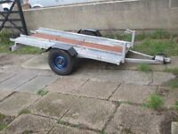 Trailer 2/3 motorcycle or quad or small plant