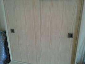 Children's cupboard sliding door furniture