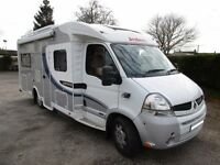 Dethleffs Espirit four berth with rear fixed bed for sale
