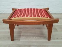 Vintage Footstool (DELIVERY AVAILABLE FOR THIS ITEM OF FURNITURE)