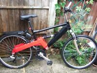Mountain Bike Project with lots of Spares (Shimano etc)