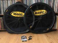 Mavic Ksyrium SLR exalith bike wheels wheelset, wheelbags and pads