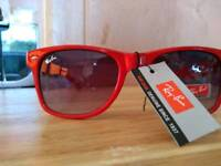 Ray Ban sunglasses, RED