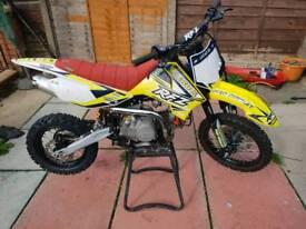 Rfz140 pit bike