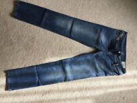 Genuine Diesel ladies/girls jeans.