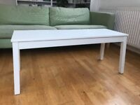 white bench / coffee table