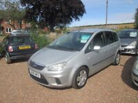 FORD FOCUS C-MAX 2008 1.6 LTR TDCI 132000 MILES 1 YEAR MOT WARRANTIED GREAT CONDITION !!!