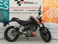 KTM 125 DUKE ABS | 1 FORMER KEEPER | 600 MILES | AS NEW CONDITI (orange) 2016