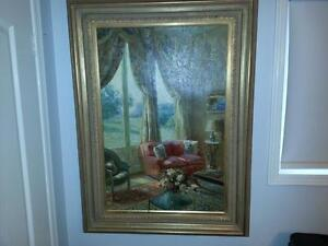Listed Canadian and U.S. Artists - Oil Paintings and Lithographs