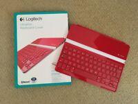 Logitech iPad Keyboard, red