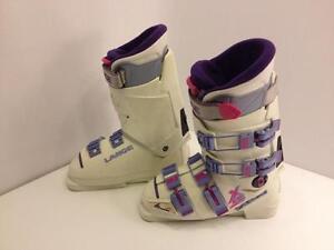 Lange X8 women's ski boots, size 5 US, 37 EUR